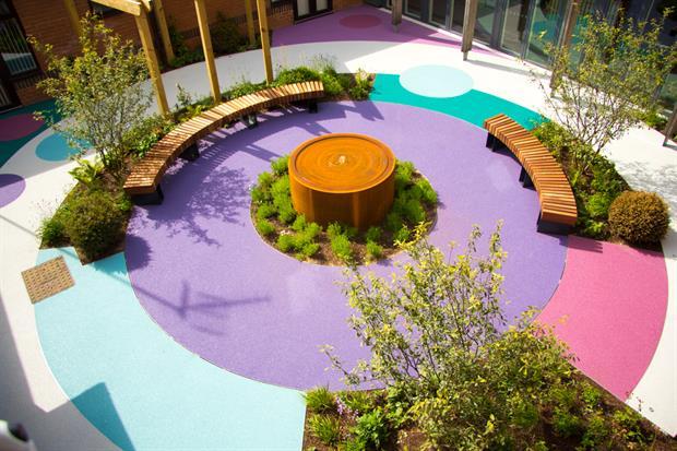 Keech Hospice Garden - image: Greenfingers