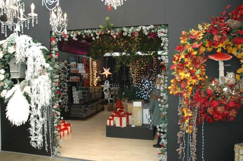 Sunshine Garden Centre put Christmas products on display from mid September - image:  Sunshine GC