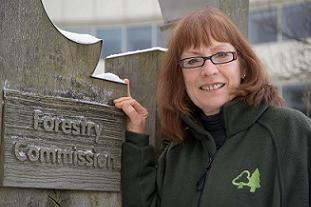 Pam Warhurst will chair the Forestry Commission. Pic: Forestry Commission