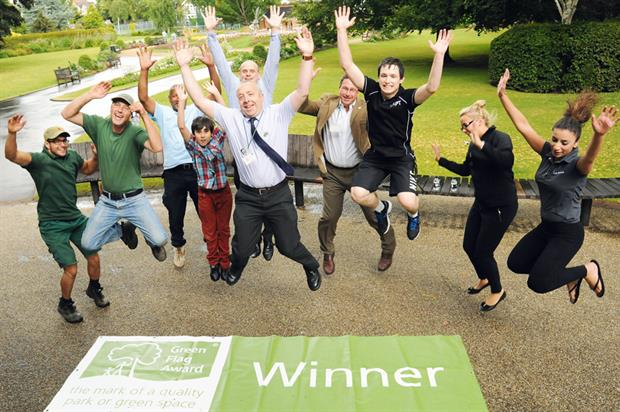 Winners: record total of parks and green spaces secure Green Flags