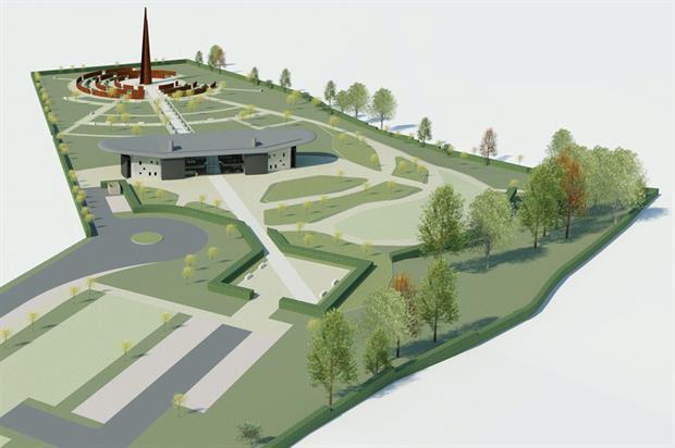 Peace garden: memorial plans