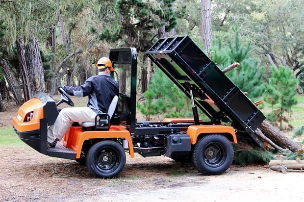 Jacobsen Truckster XD - image: Ransomes Jacobsen