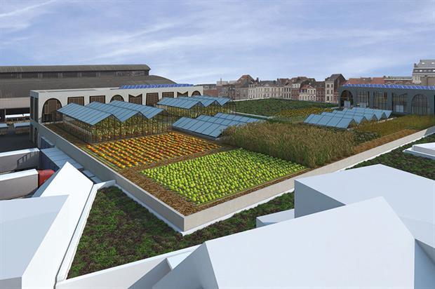 Foodmet: urban food-growing project in Belgian capital - image: Abattoir