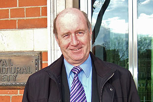 Professor Mike Alder, chairman, Plant Heritage. Photo: HW