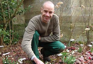 Andrew Jones, head gardener, Deene Park - Image: HW