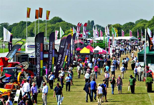 The outdoor Saltex was exposed to the weather. Photo Alex Deverill