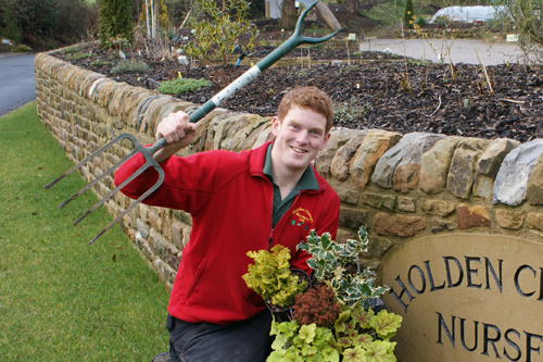 John Foley, owner, Holden Clough Nursery - image: HW