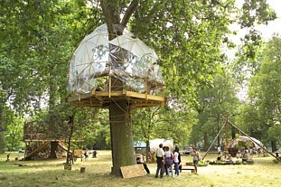 TreeHouse Gallery project will inspire love of nature. Photo: Royal Parks