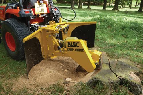 BLEC compact stump grinder - image: HW