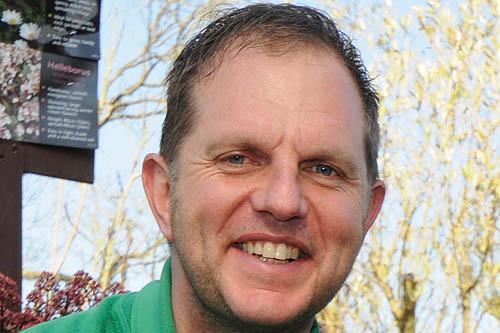 Andrew Pitman, plant manager. Image: Monkton Elm Garden & Pet Centre
