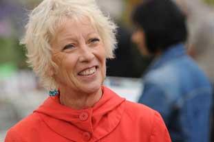 Gardeners' World presenter, author and columnist Carol Klein - photo: IPC Media/Amateur Gardening