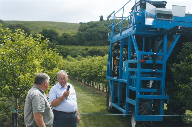 Thatchers: orchard and machinery day hosted by cider company - image: HW