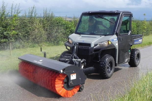 Polaris Brutus HD PTO utility vehicle   Horticulture Week
