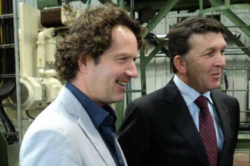 Diarmuid Gavin and Ed Conroy - image: HW
