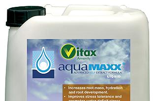 AquaMAXX surfactant from Vitax Amenity - image: Vitax Amenity