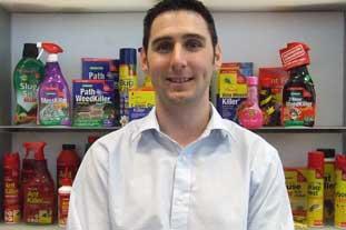 Ian Overson, category manager, Bayer Garden UK - photo: Bayer Garden UK