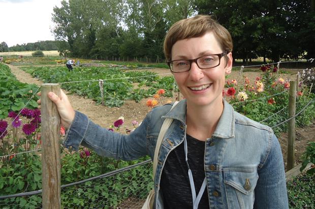 Samantha Jackson, trainee gardener, RHS Rosemoor - image: HW