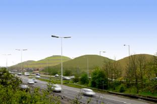 Northala Fields - will the Hill on the Heath resemble this? Pic: LDA Design