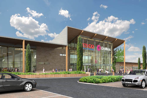 Dobbies is planning a a joint store with Tesco in King's Lynn in Norfolk (Image: Dobbies)