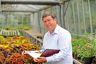 Ken Crafer has designed a course to meet the skill requirements of the garden retail sector  - image: KMC