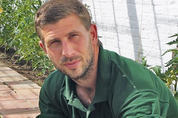 Alan North, head gardener, Audley End