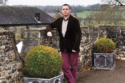 Joseph Atkin, head gardener, Aberglasney Gardens - image: Aberglasney Gardens