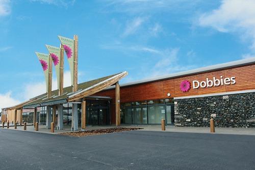 Dobbies' garden centre in Aberdeen - image:Dobbies