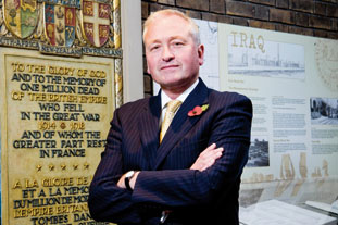 Alan Pateman-Jones, director-general, Commonwealth War Graves Commission Image: Julian Dodd