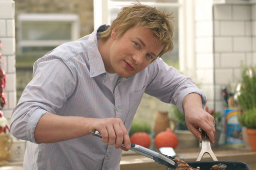 Jamie Oliver: TV chef urges support for project