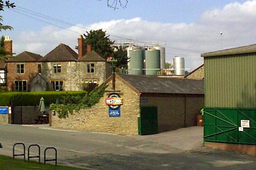 Westons Cider HQ, Much Marcle - image: Tony Kennick