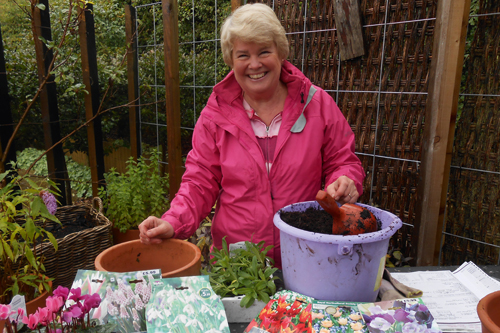 Lesley Watson, general manager New Hopetoun Gardens - image: HW