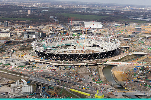 More than 4,000 trees are planned for the Olympic regeneration site in East London - image: London 2012