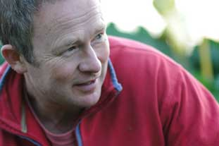 Toby Buckland, replaced by Monty Don on Gardeners' World - image: BBC