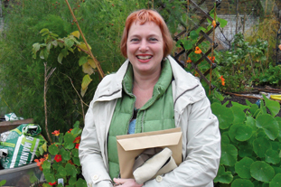 Marnie Rose, chief executive, the Garden Classroom - image: HW