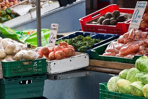 Fresh produce on sale in Ireland - image:  William Murphy