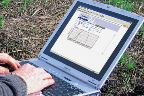 the i-crop tool in the field - image: PepsiCo