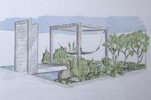 The winning design for Southport Flower Show -image: OCGD