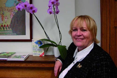 RHS director-general Sue Biggs wants to ensure the best RHS judging standards - image: HW