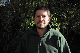 James Doyle, head gardener, Badminton School, Bristol - image: James Doyle