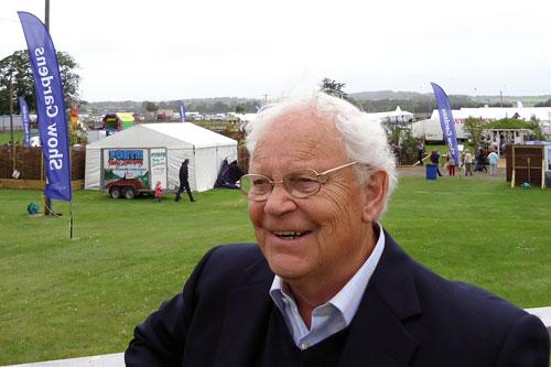 Jim McColl: contributor to Beechgrove Potting Shed