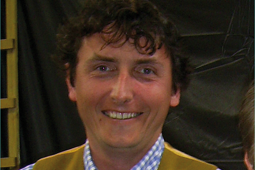 Raoul Curtis-Machin, gardens adviser, National Trust - image: HW
