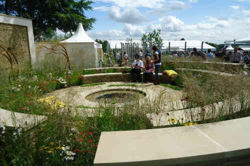 Mornflake - winner of RHS Flower Show Tatton Park 2012 - image: HW