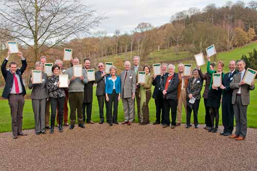 Winners among applicants to the National Forest's Changing Landscapes Scheme and Freewoods Scheme - image: NFC