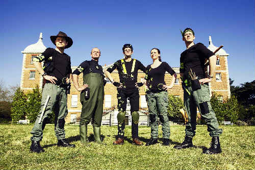 The National Trust 'Elite Ranger' squad - image: NT