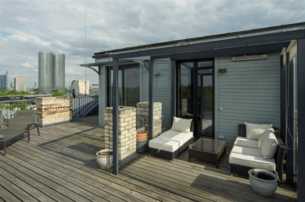 Flat roofs are gaining in popularity, AEO said. Image: ACO