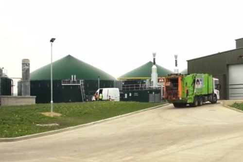 Anaerobic digestion plant - image:WRAP