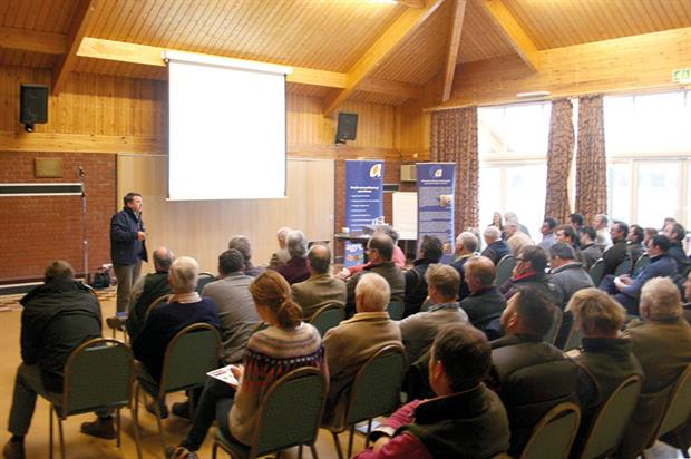 Industry meeting: Agrovista's Cider Technical Seminar hosted in Ledbury, Herefordshire, at the end of last month - image: HW
