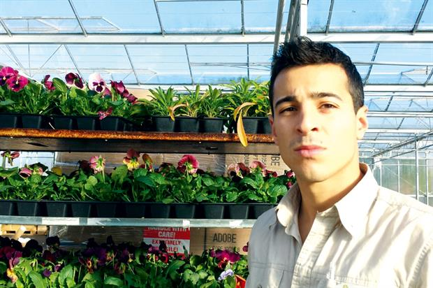 Ariel Turturiello, nursery supervisor, Beckworth Emporium - image: Beckworth Emporium