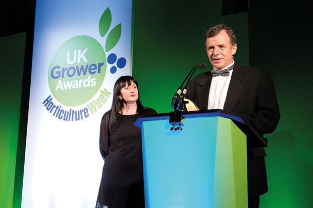Outstanding Contribution to Industry - Winner Steve Rothwell, Vitacress
