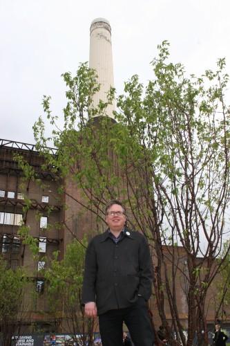 Chelsea Fringe founder Tim Richardson